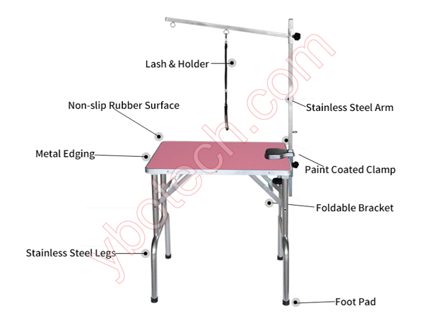 Foldable Grooming Table