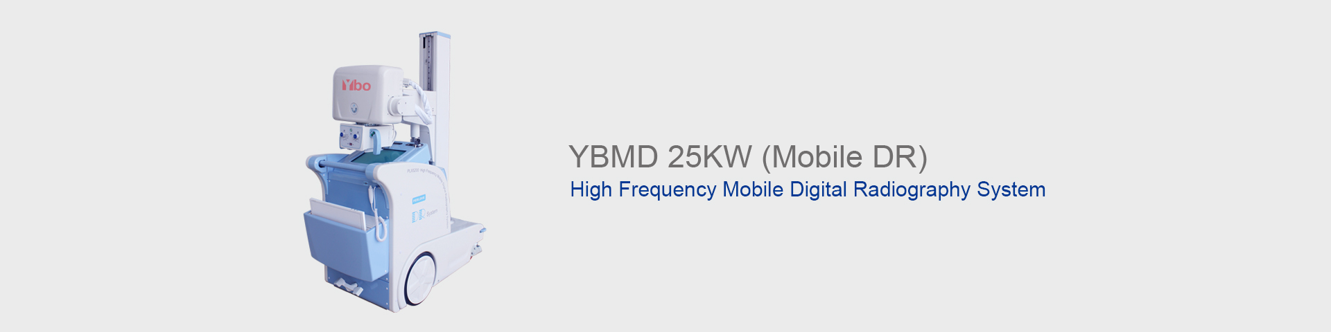 YBMD 25KW Mobile Digital Radiography System